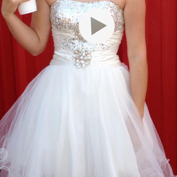 Bee Darlin Dillards Dresses White Formal Dress Poshmark